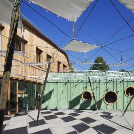 Construction du groupe scolaire Lapierre à Lens