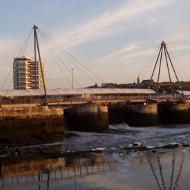 Construction du Pont Marguet à Boulogne-sur-Mer