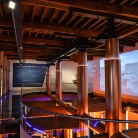 Accessibilité et aménagement du musée portuaire - Salle cargo à Dunkerque